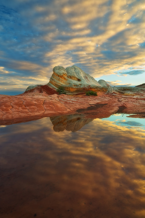 Photograph Reflected - White Pocket, Vermillion Cliffs Wilderness by David Thompson on 500px