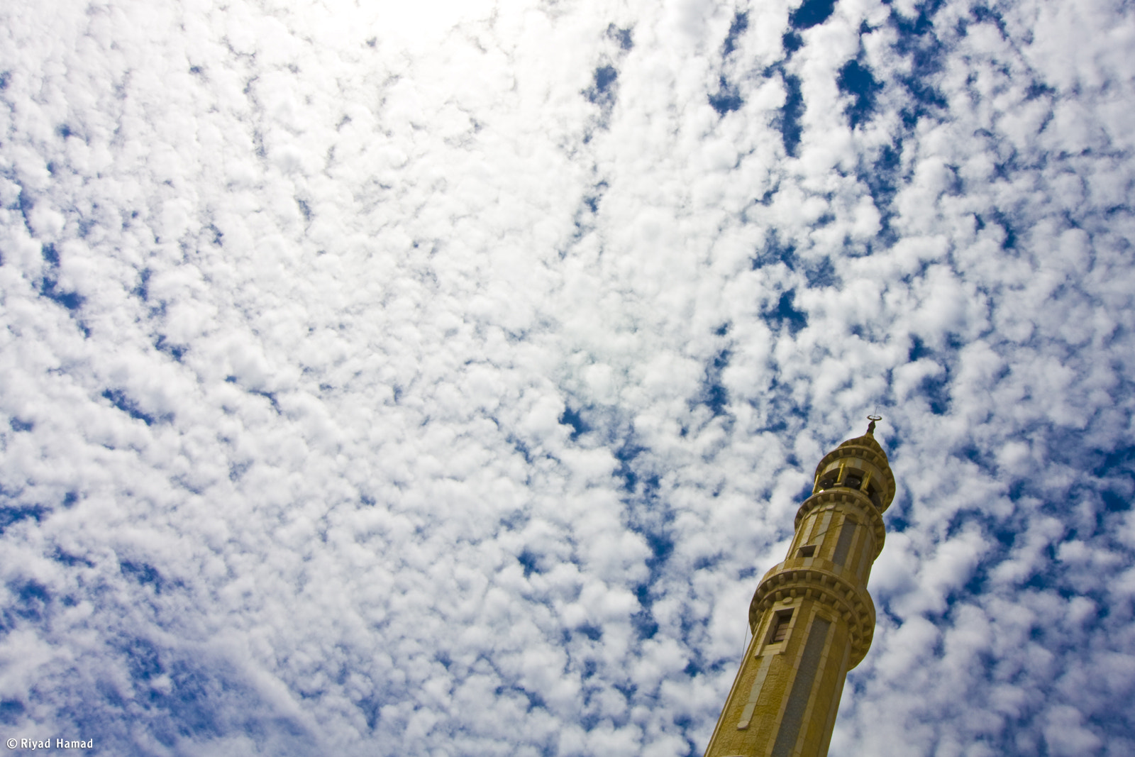 Photograph Mosque in the sky by Riyad Hamad on 500px