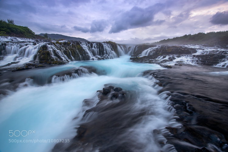 Photograph Bruararfoss by Joseph Rossbach on 500px