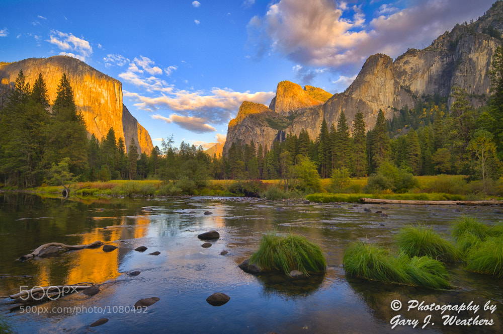 Photograph Merced River/El Capitan by Gary Weathers on 500px