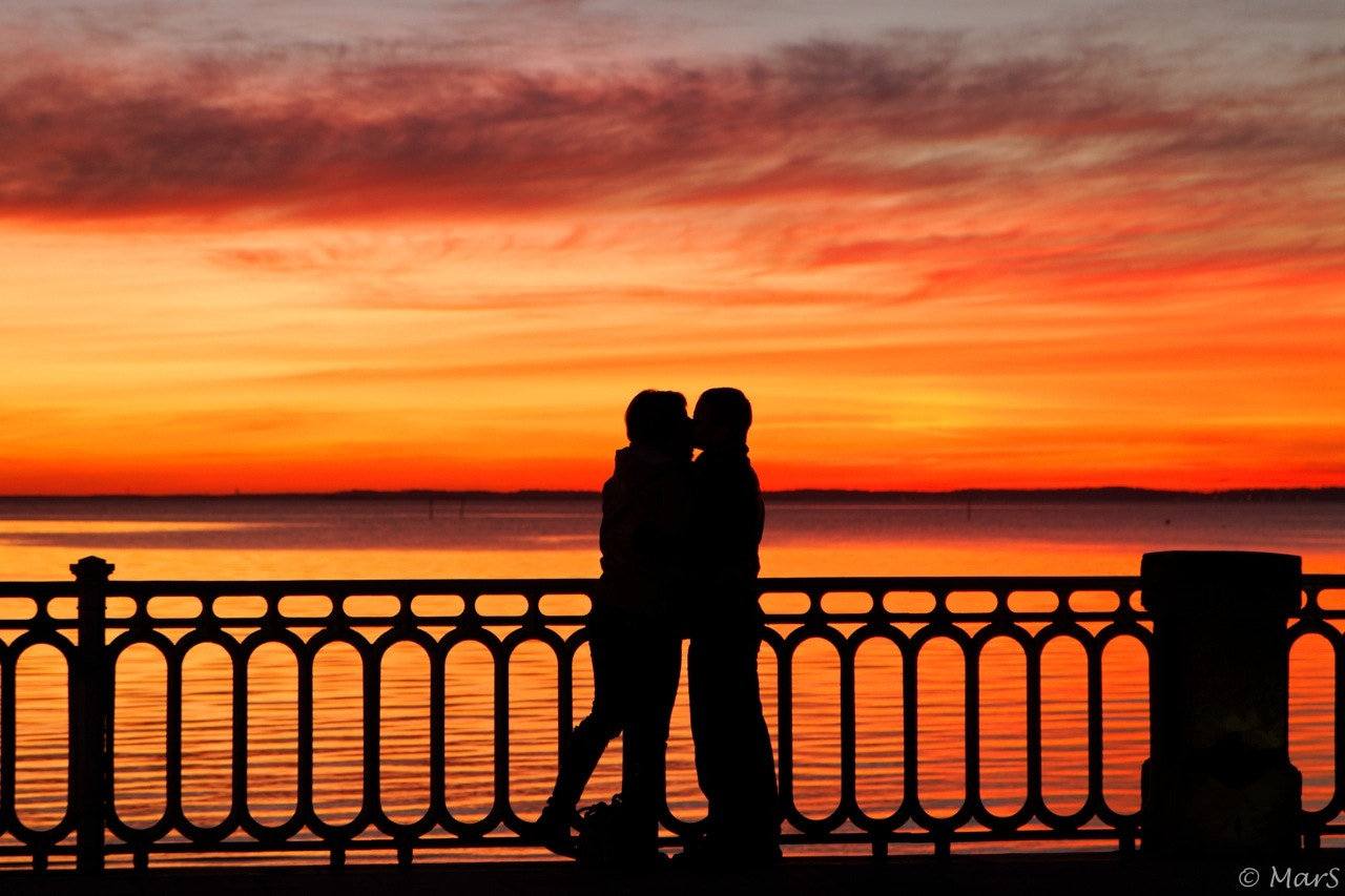 Photograph Kiss on a red sky by Sébastien Marchand on 500px