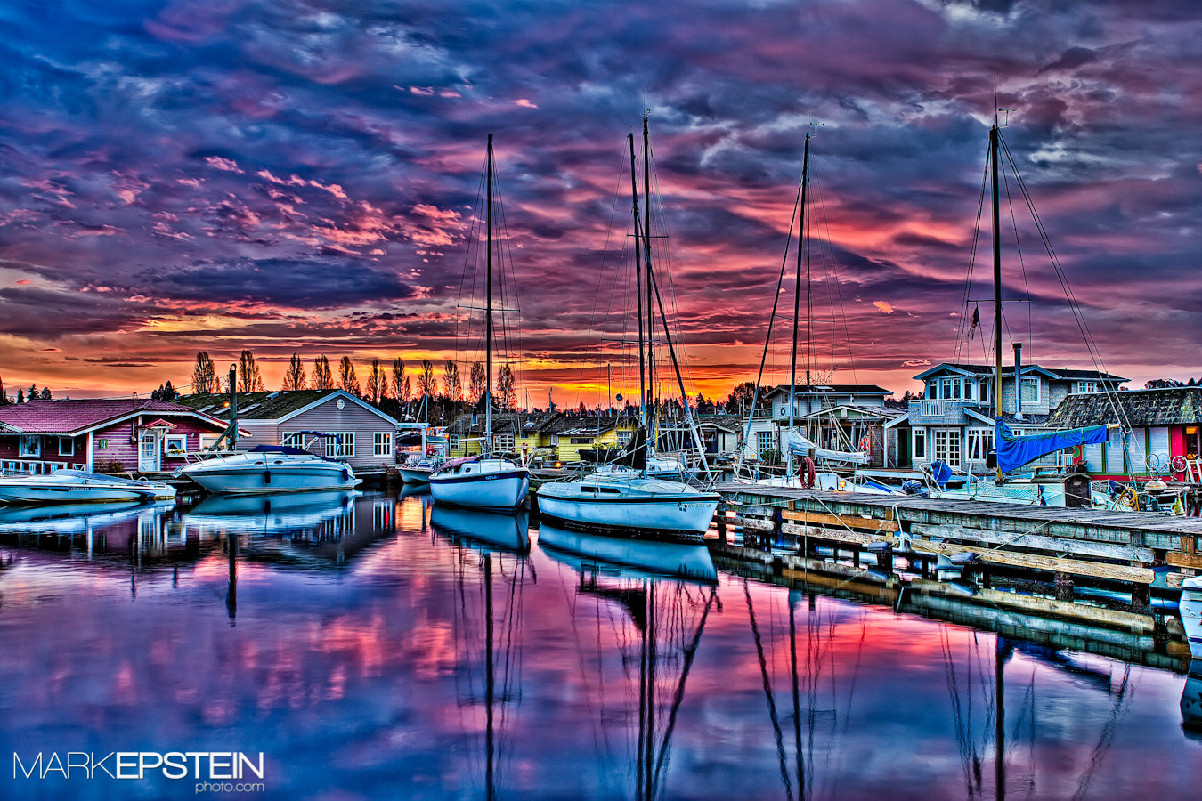 Photograph Boats at Dawn by Mark Epstein on 500px
