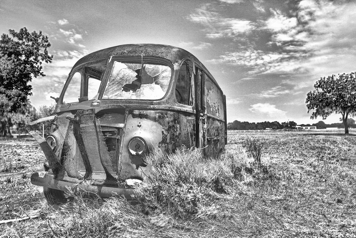 Photograph Delivery Van by Andy Graham on 500px
