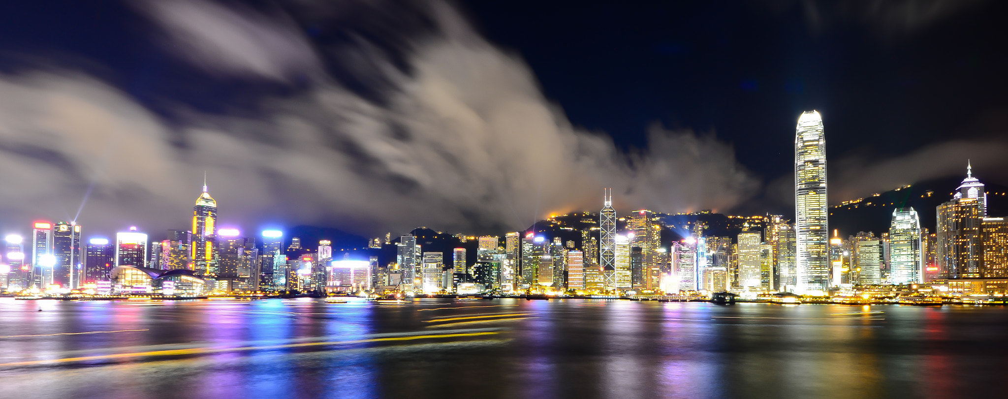 Photograph Hong Kong Night View by Man Tsui on 500px