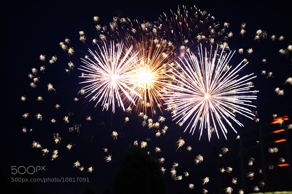 Photograph July 4th Firework by Keane Rao on 500px