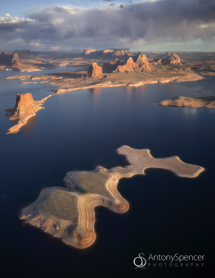 Photograph Lake Powell Aerial by Antony Spencer on 500px