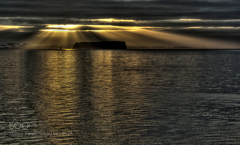 Photograph Sun breaking through by Jon Hilmarsson on 500px