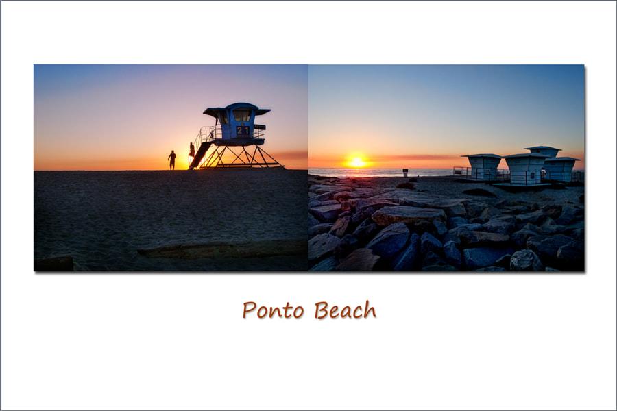Diptych Series:  Ponto Beach