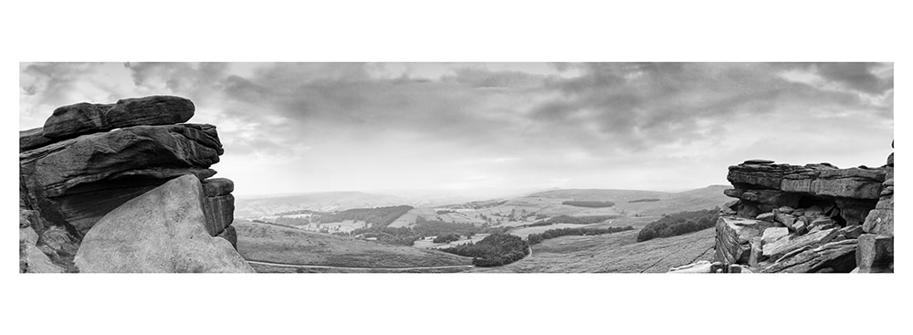 Photograph Stanage Edge Panorama by Sean Morgan on 500px
