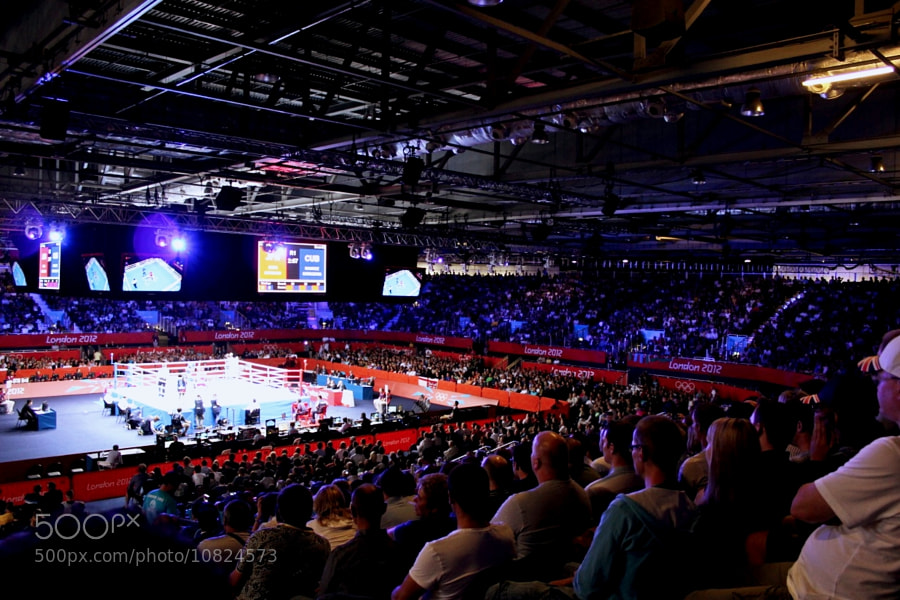 Boxing at Excel by Alexandre Roty (AlexRoty) on 500px.com