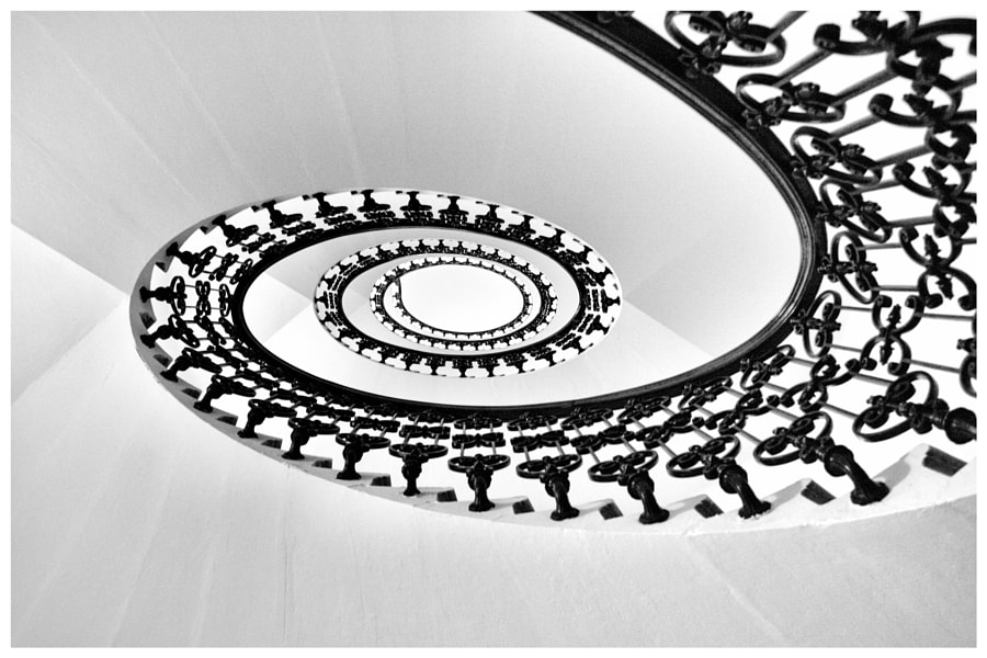 Photograph Spiral Staircase Revisited by Rodolfo Quevenco on 500px