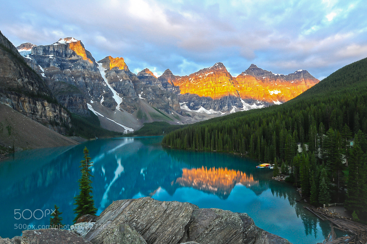 Photograph Moraine Lake by Michelle Lee on 500px