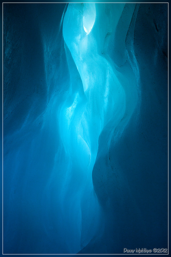 Photograph Blue cave (Fox Glacier) by Danny Matthys on 500px