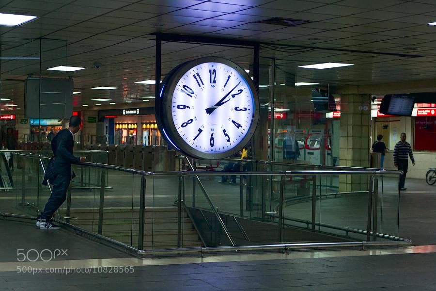 Barcelona metro hall