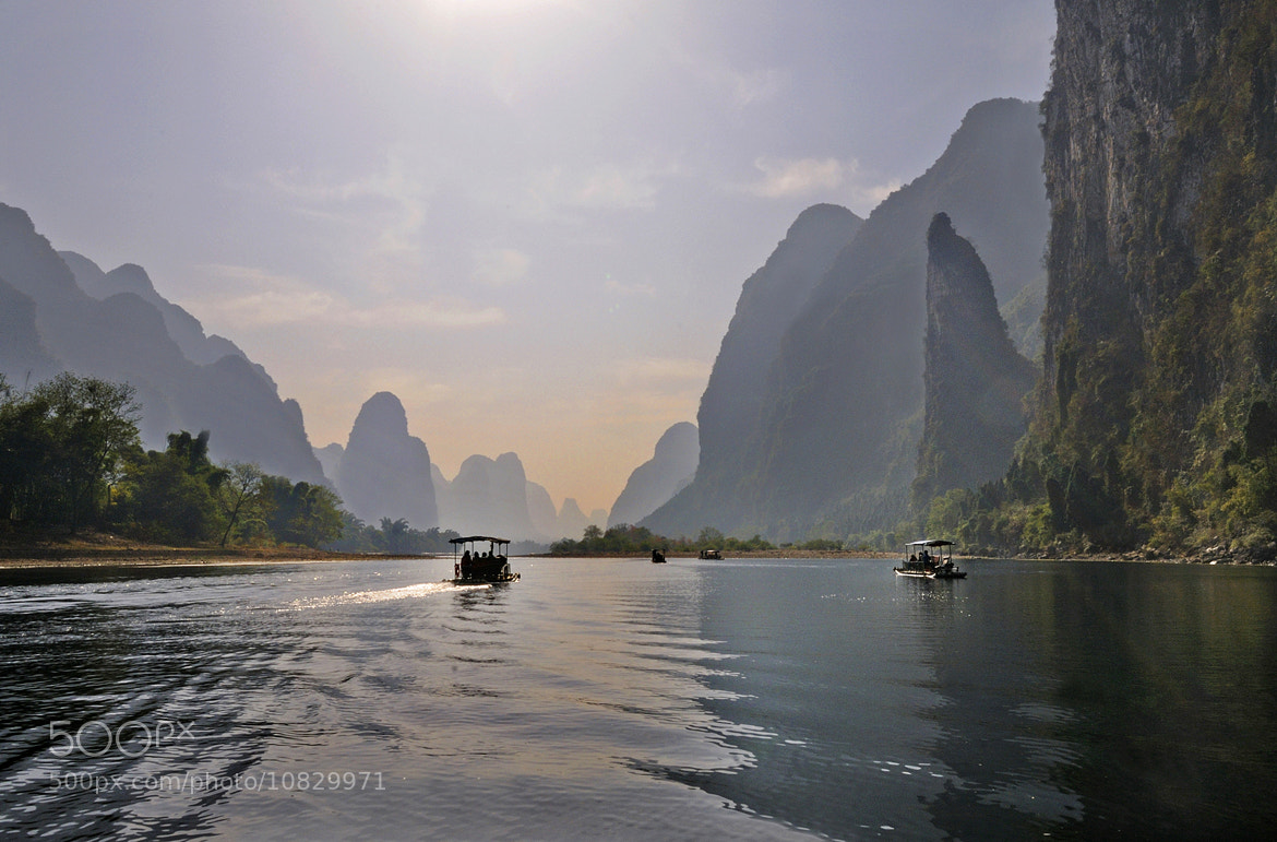 Photograph Li River_2, Guilin, China.  by Andrew Chu on 500px