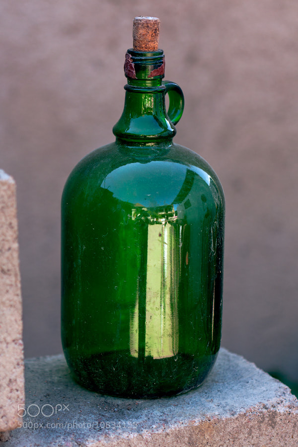 A Gin in the bottle