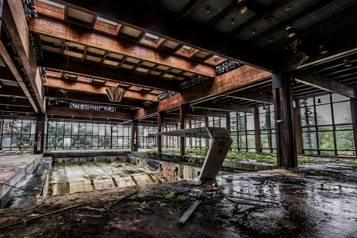 Photograph Abandoned Swimming Pool by Mike Kolesnikov on 500px