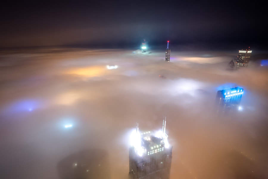 Photograph Cloud Chicago by Peter Tsai on 500px