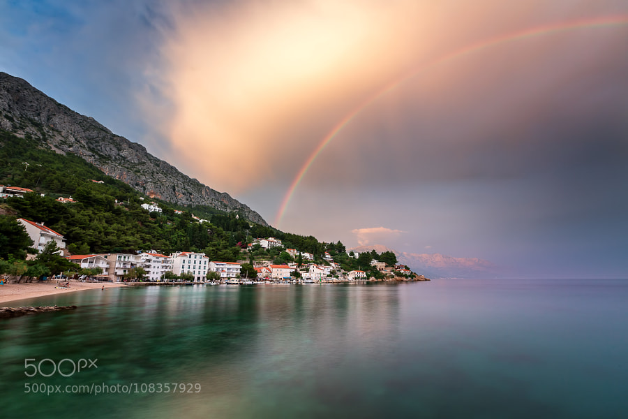 Rainbow in Croatia by anshar