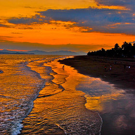 Costa Rican Sunset  by Chris Taylor (chriswtaylor)) on 500px.com