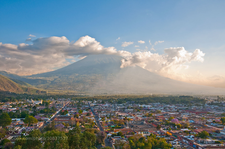 Photograph Antigua & Volcan de Agua, Antigua Guatemala by Al  on 500px