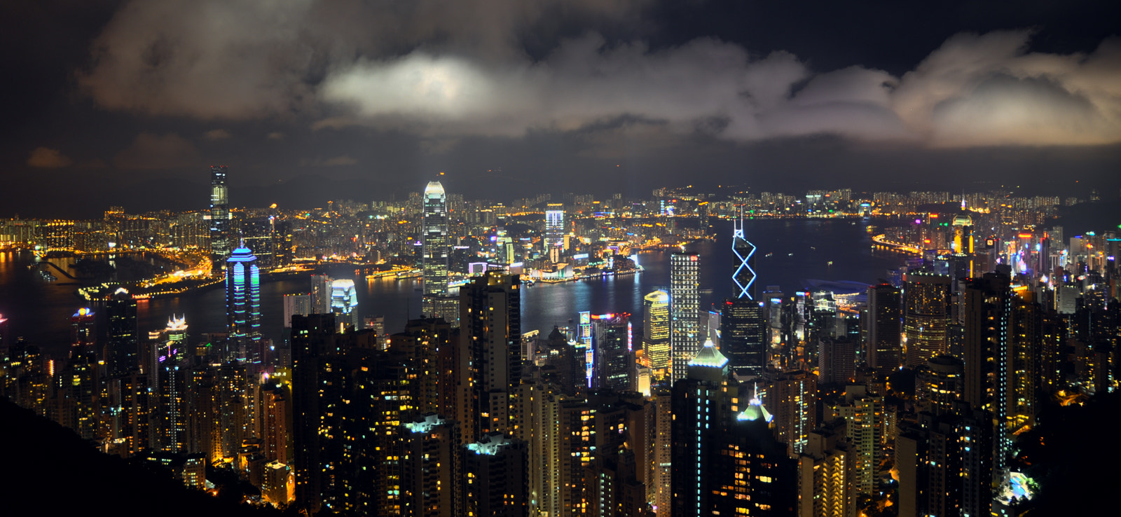 Photograph Victoria Harbour Pano, Hong Kong by Al  on 500px