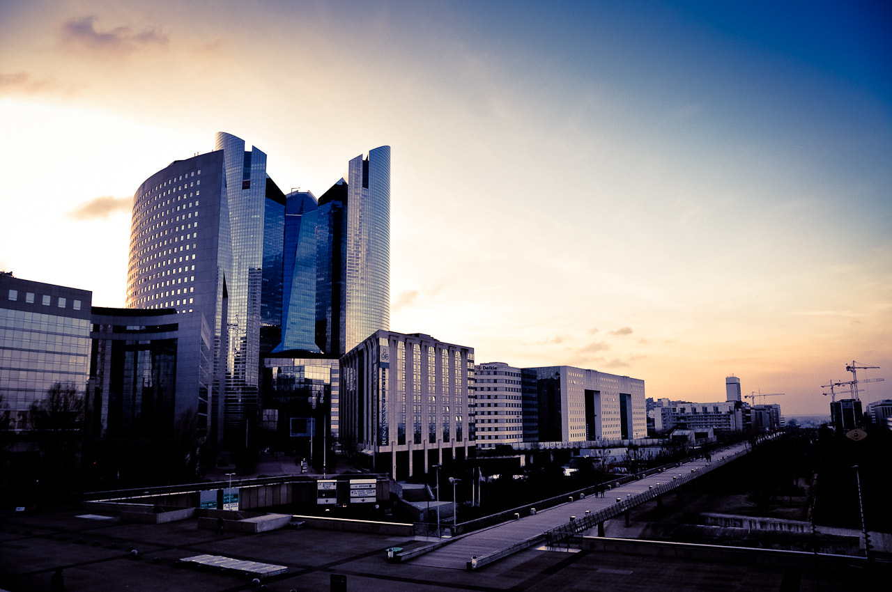 Photograph La Défense Sunset by Mike Hutch on 500px