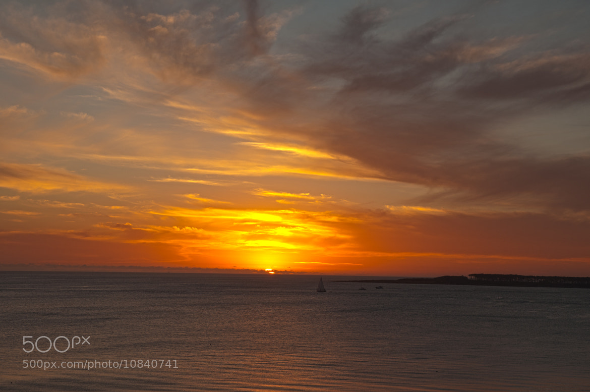 Photograph Sunset, Punta Del Este, Uruguay by Al  on 500px
