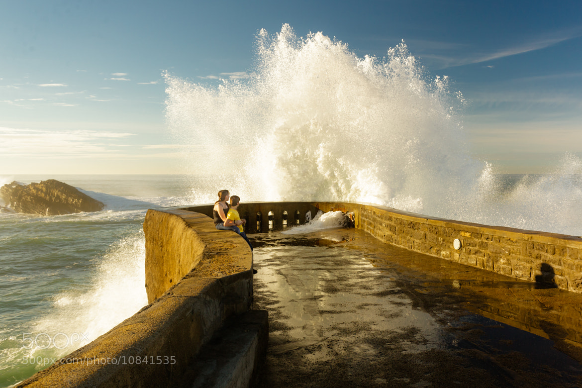 Photograph Hungry Wave by Anth Optic on 500px