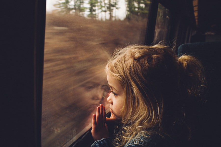 Photograph First Train Ride by The Spragues on 500px
