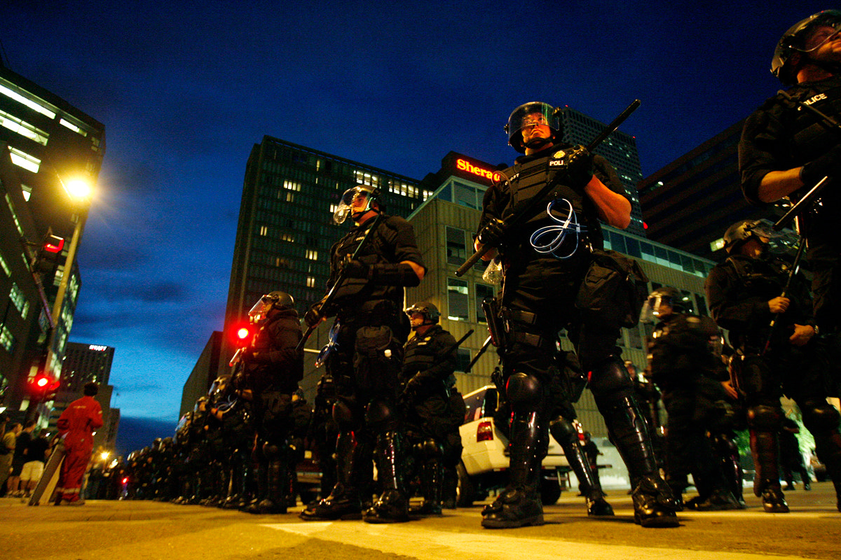 Photograph Riot Police by Brandon Iwamoto on 500px