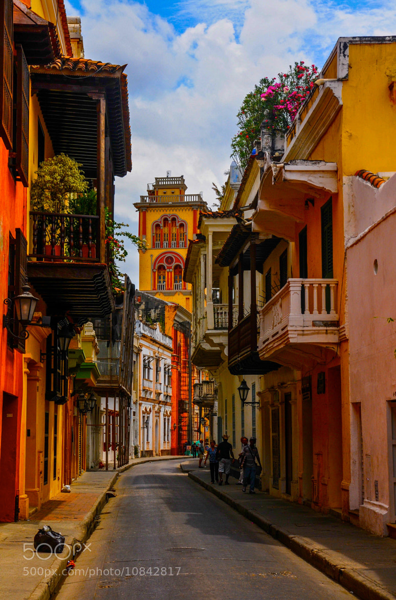 Photograph Old Town Cartagena by Chris Taylor on 500px