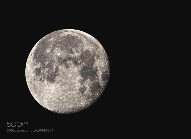 Photograph moon by turke  on 500px