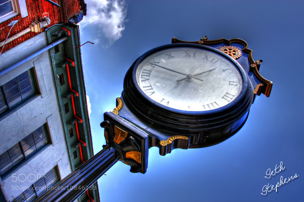 Photograph HDR Clock by Seth Stephens on 500px