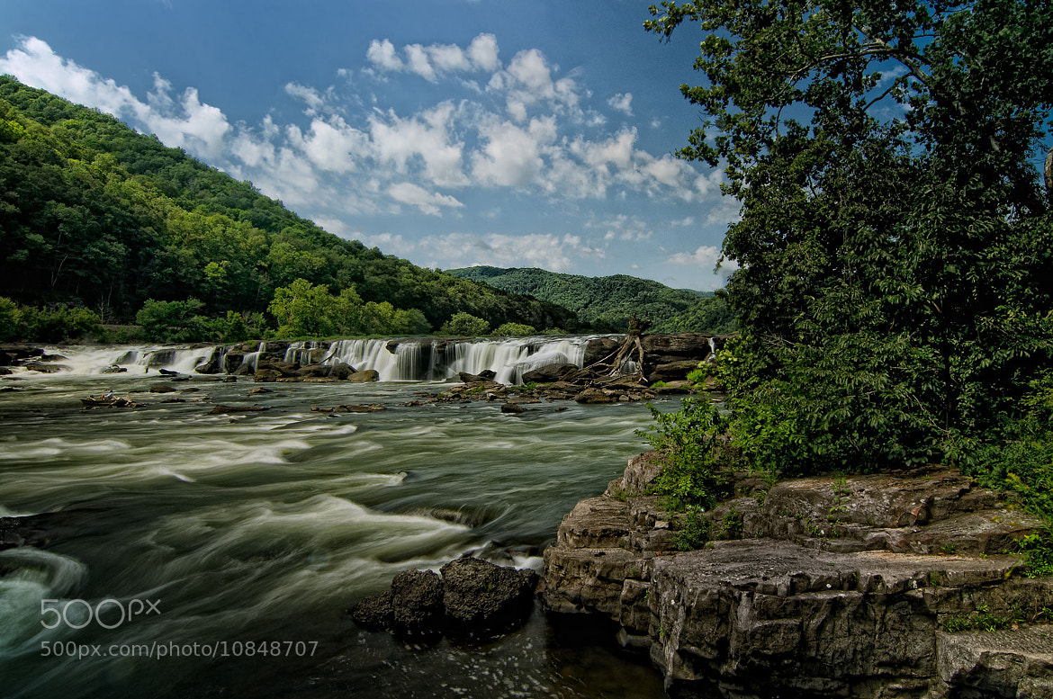 Photograph Sandstone Falls by Tom Dean on 500px