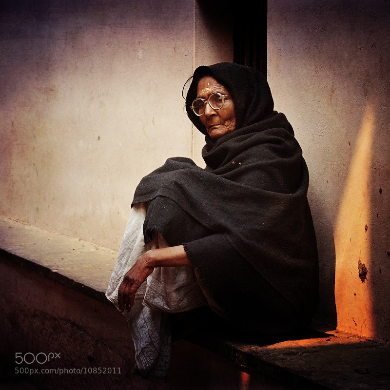Photograph grandma Jayanti by maha  on 500px