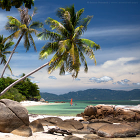 Kho Phangan (Plai Laem beach) by Anton Jankovoy (jankovoy)) on 500px.com