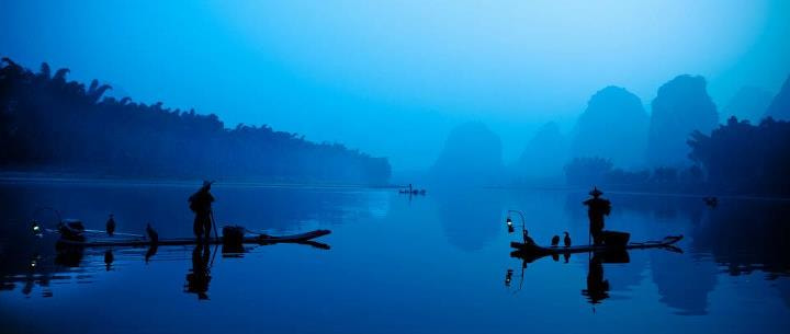 Photograph Fishermen at dawn by Philippe CAP on 500px