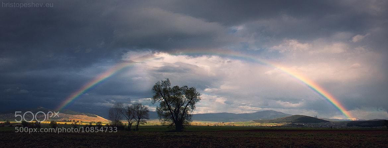 Photograph Rainbow by Hristo Peshev on 500px
