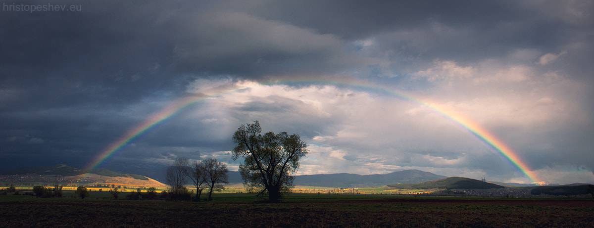 Photograph Rainbow by Hristo Peshev on 500px