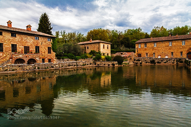 Photograph Bagno Vignoni by Teo Teo on 500px