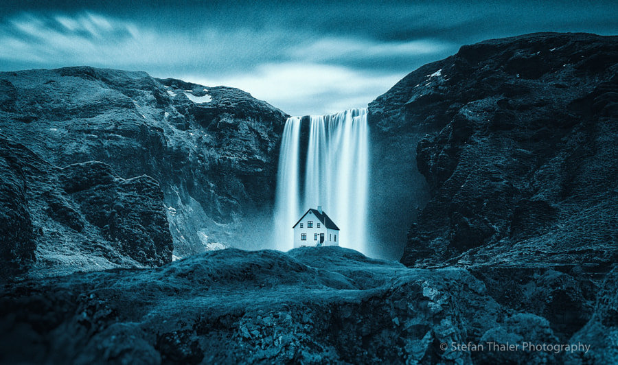 Skógafoss Fantasy by Stefan Thaler on 500px.com