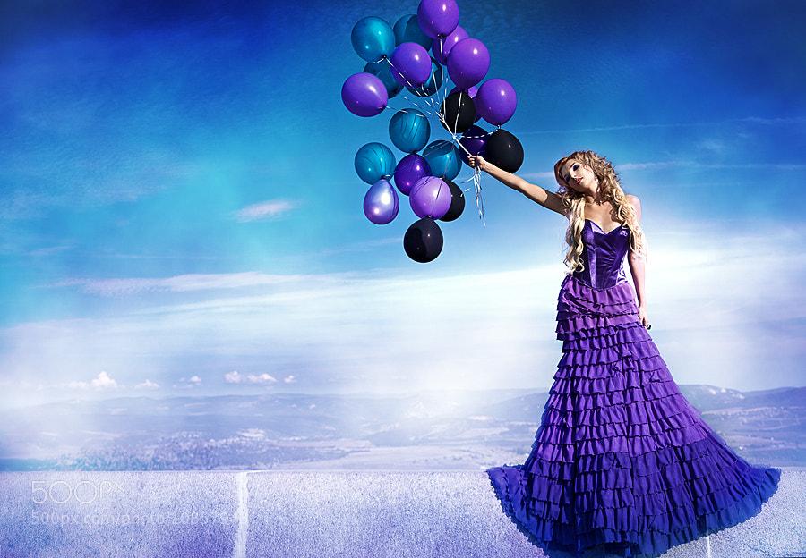 Photograph purple by Alena Kycher on 500px