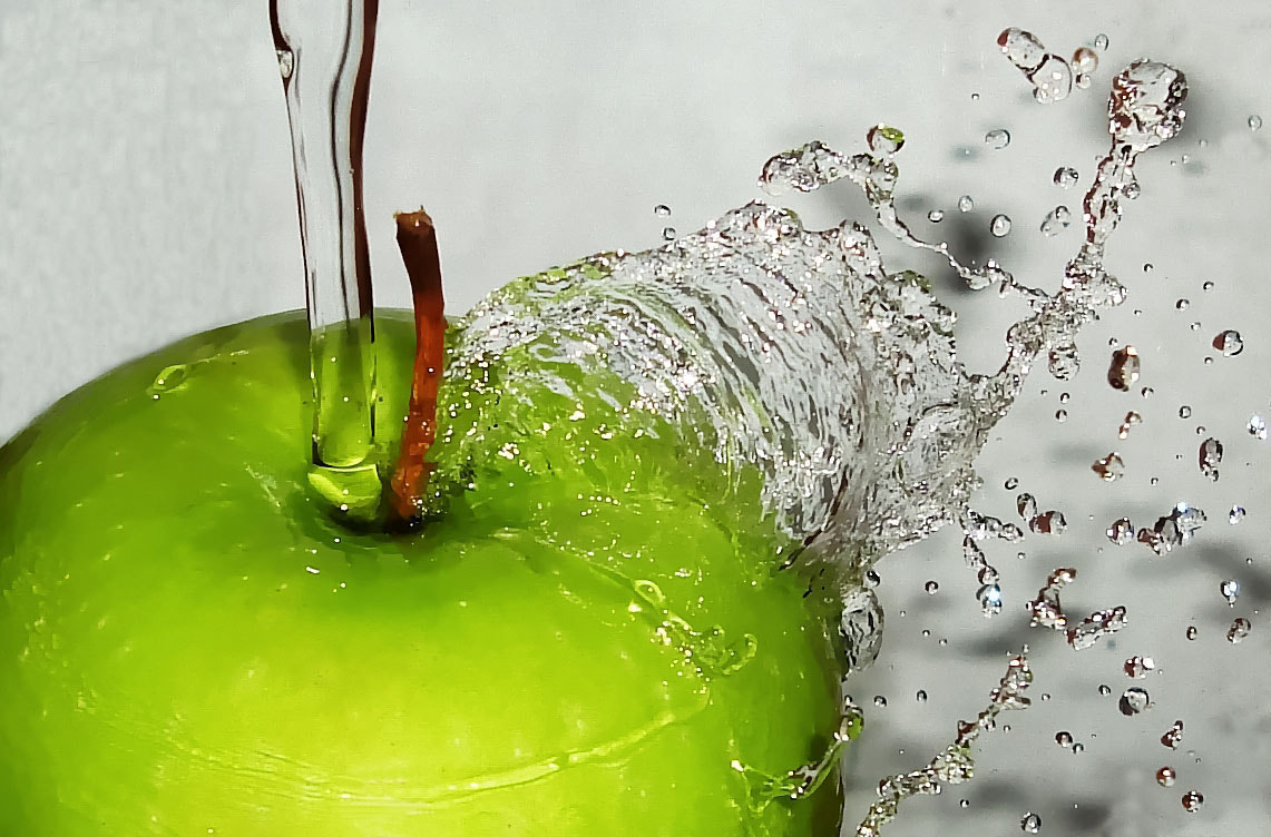 Photograph Green Apple Splash II by Premkumar Antony on 500px