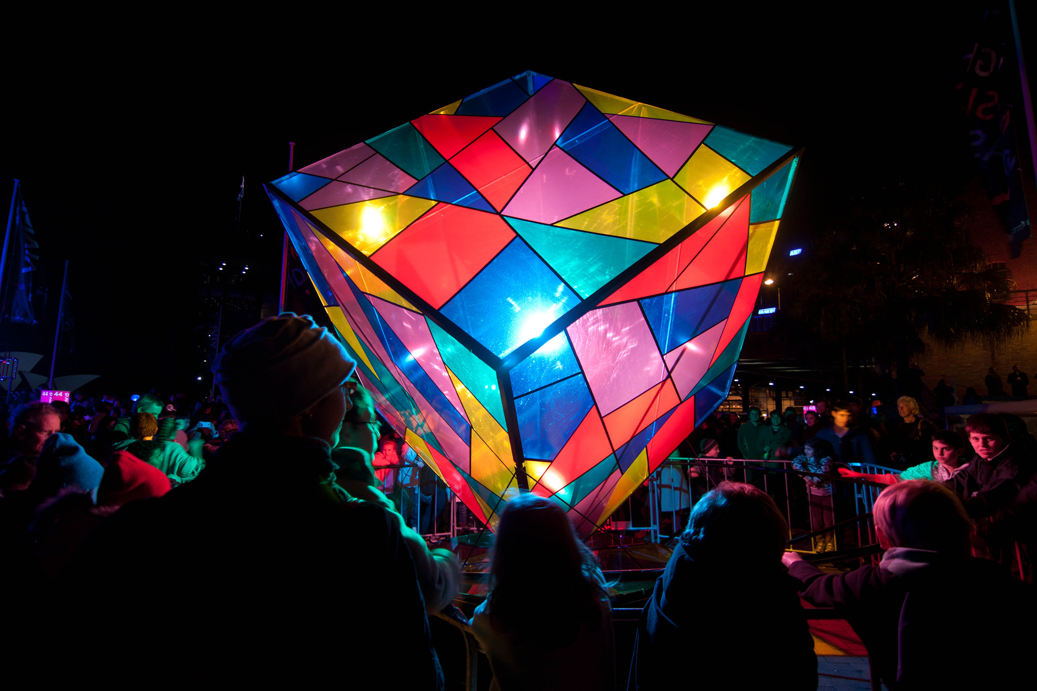 Photograph The cube from Vivid 2012 by Brendan Yu on 500px