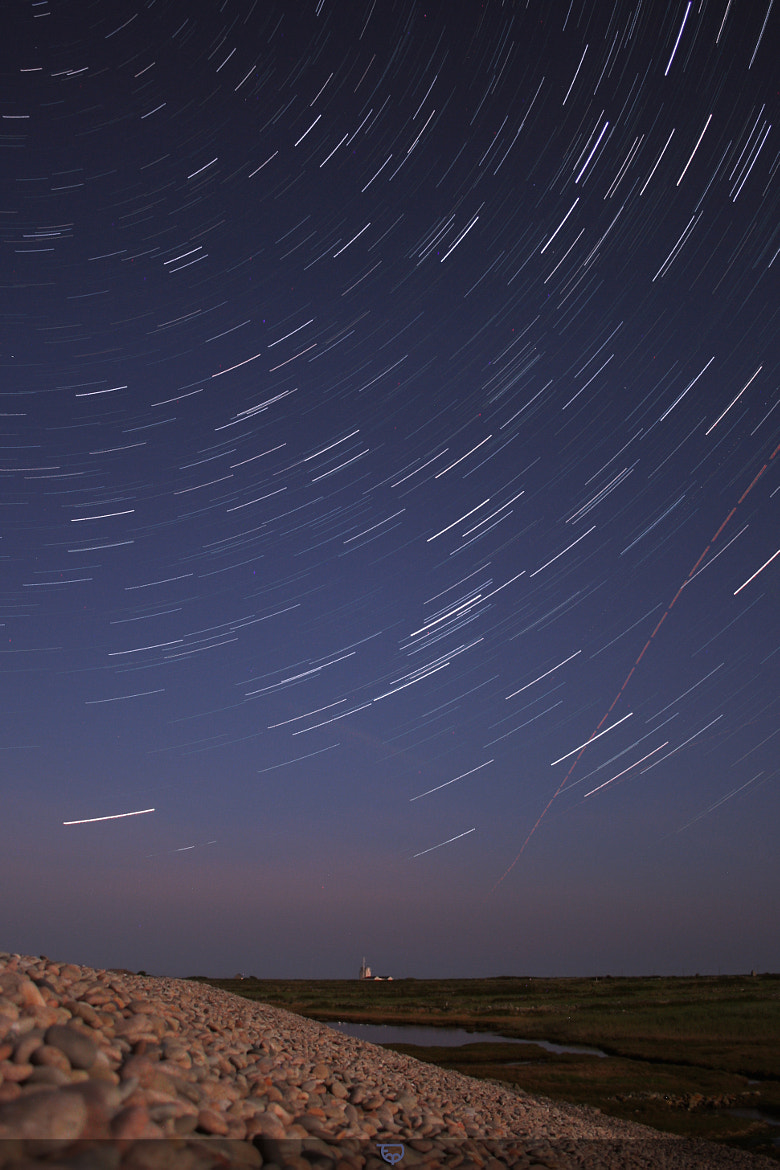 Photograph Startrail @ Goury by Thomas MARIE on 500px