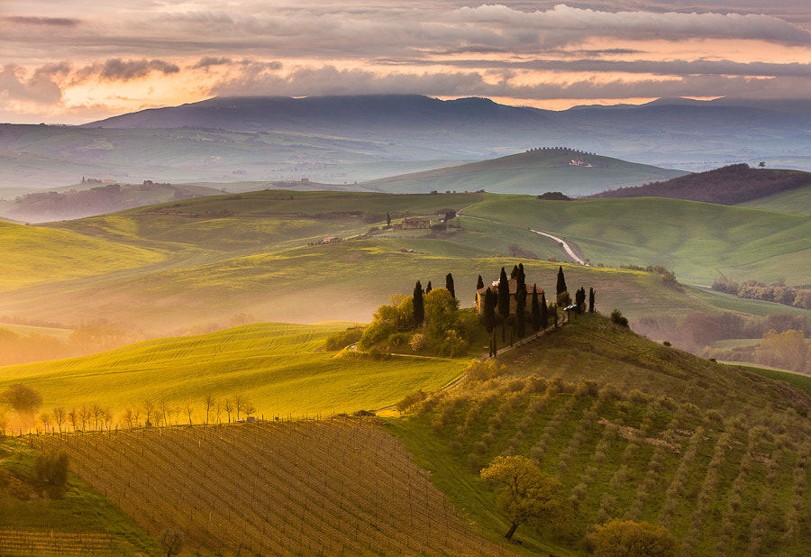 """<a href=""""http://www.hanskrusephotography.com/Landscapes/Tuscany/7561797_L8HLXs#!i=1998690868&k=955cfCh&lb=1&s=A"""">See a larger version here</a>  This photo was taken during research for a photo workshop in the spring 2013."""