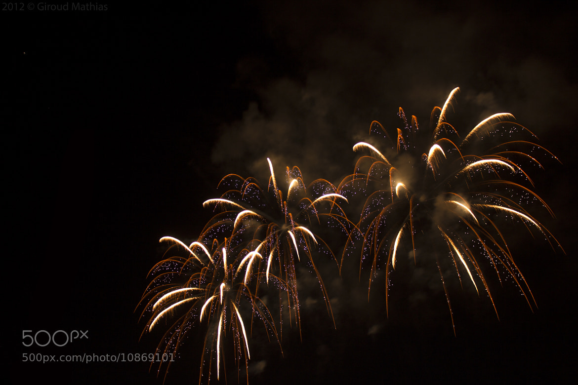 Photograph Bouveret's fireworks by Giroud Mathias on 500px