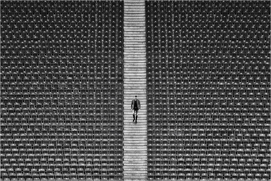 Photograph stadium by Kai Ziehl on 500px