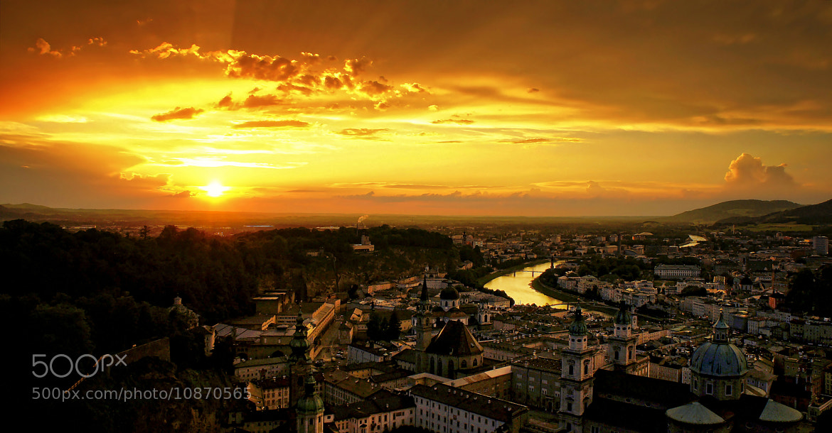 Photograph Sunset in Salzburg by Robert Karo on 500px